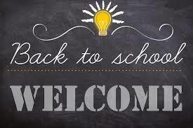 Welcome back for the 2019-20 school year!