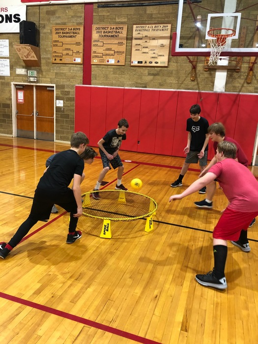 7th & 8th Grade Spike Ball Championships.
