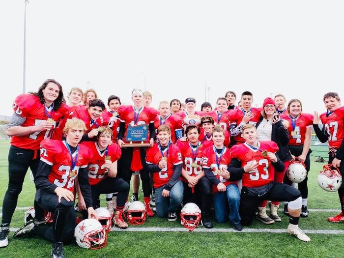 Dufur Football State Champions