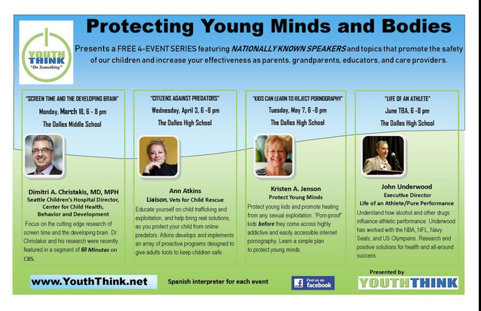 Protecting Young Minds and Bodies- A series for parents, grandparents, care providers and educators.