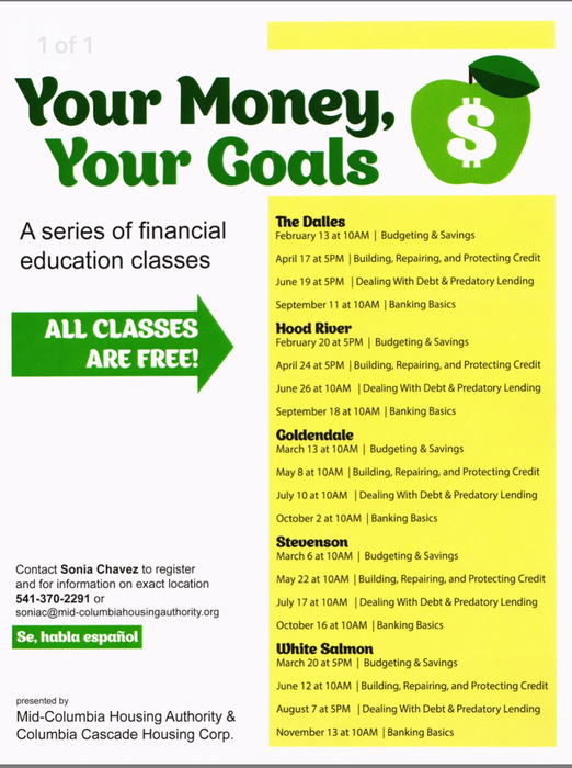 Financial Education Classes